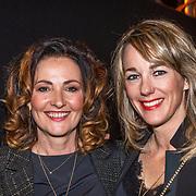 NLD/Amsterdam/20190228 - inloop Amsterdamse première musical Soof, Marianne Timmer en vriendin