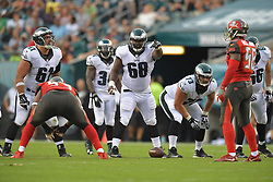 against the Tampa Bay Buccaneers at Lincoln Financial Field on August 11, 2016 in Philadelphia, Pennsylvania. The Eagles won 17-9. (Photo by Drew Hallowell/Philadelphia Eagles)