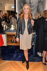 SARAH-JANE MEE at a party to celebrate the launch of the APM Monaco Flagship Store at 3 South Molton Street, London on 11th February 2016