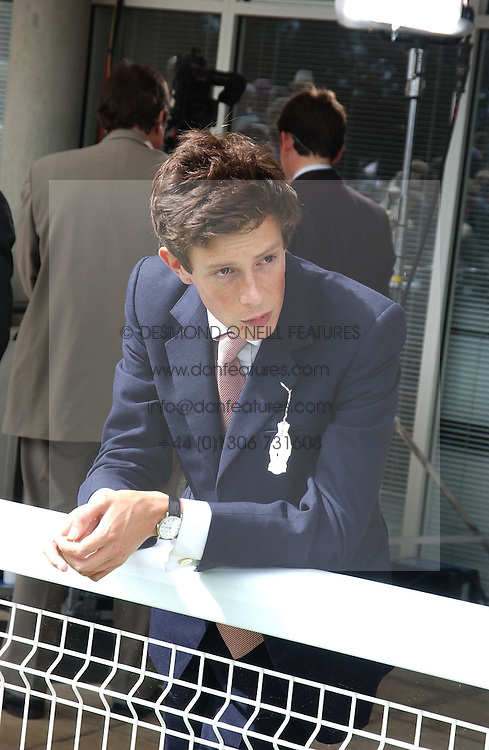 JAMES ROTHSCHILD at the 4th dfay of the 2005 Glorious Goodwood horseracing festival at Goodwood Racecourse, West Sussex on 29th July 2005.    <br /><br />NON EXCLUSIVE - WORLD RIGHTS