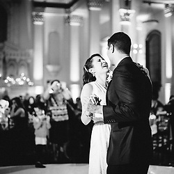 The wedding of Abby Garcia and Luigi Gratton at the Doubletree hotel in downtown LA, the LA Cathedral, and the Vibiana hotel was photographed by Hannah Arista on December 29th, 2012.