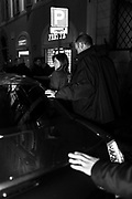 Maria Elena Boschi, Democratic Party (PD), leaves the PD meeting in Rome, 13 February 2017. Christian Mantuano / OneShot