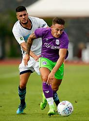 Josh Brownhill of Bristol City attacks - Mandatory by-line: Matt McNulty/JMP - 22/07/2017 - FOOTBALL - Tenerife Top Training - Costa Adeje, Tenerife - Bristol City v Atletico Union Guimar  - Pre-Season Friendly