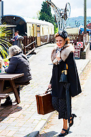 Wartime in the Cotswolds<br /> Run by GWR steam railway. It has events at several stations and is all 1940s themed.photo by mark anton smith