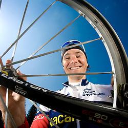 20090406: Cycling - Portrait of rider Borut Bozic
