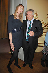PATRICK GUINNESS and JADE PARFITT at a party to celebrate the publication of 'Arthur's Road' a biography of Arthur Guinness written by Patrick Guinness held at the Irish Embassy, London on 6th March 2008.<br /><br />NON EXCLUSIVE - WORLD RIGHTS