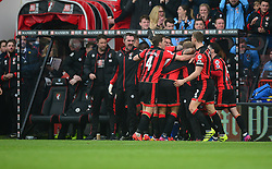 Bournemouth Team celebrate Joshua King of Bournemouth 3rd goal. - Mandatory by-line: Alex James/JMP - 11/03/2017 - FOOTBALL - Vitality Stadium - Bournemouth, England - Bournemouth v West Ham United - Premier League