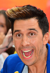 Red 2 UK film premiere.<br /> Russell Kane during the premiere of the sequel to 2010's graphic novel adaption, about a group of retired assassins. <br /> Empire Leicester Square<br /> London, United Kingdom<br /> Monday, 22nd July 2013<br /> Picture by Nils Jorgensen / i-Images