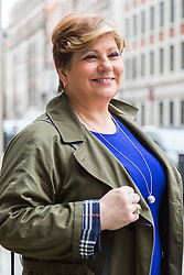 London, January 14 2018. Shadow Foreign Secretary Emily Thornberry attends the Andrew Marr Show at the BBC's New Broadcasting House in London.. © Paul Davey