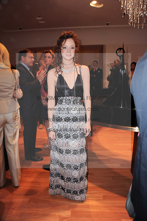 ANDREA RISEBOROUGH at a party to celebrate the B.zero 1 design by Anish Kapoor held at Bulgari, 168 New Bond Street, London n 2nd June 2010.