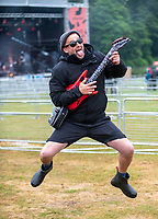 Bigfoot Festival   Ragley Hall Warwickshire one of the first festivals to open successfully in 2021,photo by Brian Jordan