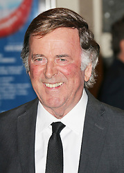 ** File picture of Sir Terry Wogan, who has died of cancer at the age of 77 **© Licensed to London News Pictures. 26/03/2014, UK. JJ Sir Terry Wogan, I Can't Sing! The X Factor Musical - press night, London Palladium, London UK, 26 March 2014. Photo credit : Richard Goldschmidt/Piqtured/LNP