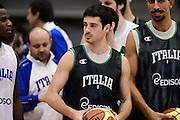 Biella, 15/12/2012<br /> Basket, All Star Game 2012<br /> Allenamento Nazionale Italiana Maschile <br /> Nella foto: lorenzo d'ercole<br /> Foto Ciamillo