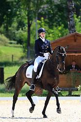 Knapton Jessica (GBR) - Remarkable<br /> FEI European Championship Juniors - Bern 2012<br /> © Hippo Foto - Leanjo de Koster