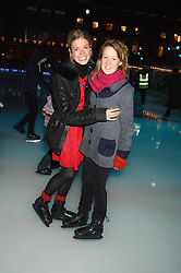 Left to right, ISABELLA ANSTRUTHER-GOUGH-CALTHORPE and LAURA FELLOWES at a Winter Party to celebrate the opening of the Ice Rink at Somerset House, London in association with jewellers Tiffany on 20th November 2007.<br /><br />NON EXCLUSIVE - WORLD RIGHTS
