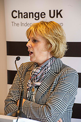 "Pictured: Anna Soubry<br /> <br /> Change UK has lost six of its 11 MPs following a disappointing performance in last month's EU elections, when it failed to get a single MEP elected.<br /> <br /> The party announced that a new party leader, Anna Soubry, had been elected.<br /> <br /> She said she was ""deeply disappointed"" that Heidi Allen, Chuka Umunna, Sarah Wollaston, Angela Smith, Luciana Berger and Gavin Shuker had left.<br /> <br /> Ger Harley 