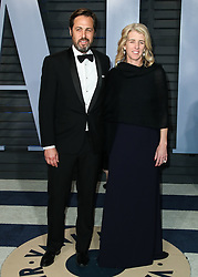 BEVERLY HILLS, LOS ANGELES, CA, USA - MARCH 04: 2018 Vanity Fair Oscar Party held at the Wallis Annenberg Center for the Performing Arts on March 4, 2018 in Beverly Hills, Los Angeles, California, United States. 04 Mar 2018 Pictured: Mark Bailey, Rory Kennedy. Photo credit: IPA/MEGA TheMegaAgency.com +1 888 505 6342