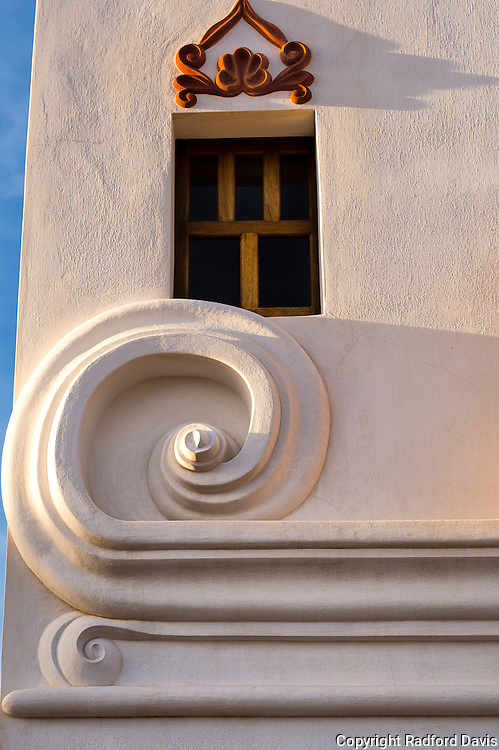 San Xavier del Bac Mission window
