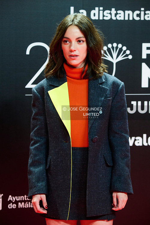 Vicky Luengo attends 24th Malaga Film Festival presentation photocall at Circulo de Bellas Artes on May 25, 2021 in Madrid, Spain
