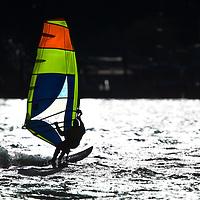 Windsurfing Sandy Hook