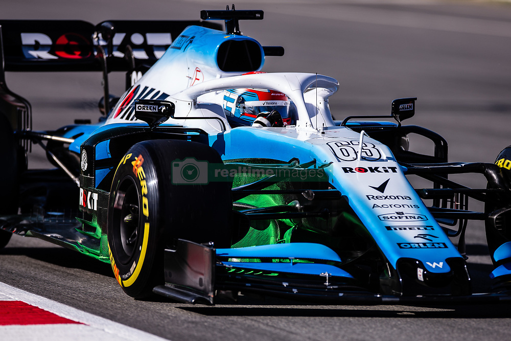 February 26, 2019 - Barcelona, Barcelona, Spain - George Russell from Great Britain with 63 Williams Racing in action during the Formula 1 2019 Pre-Season Tests at Circuit de Barcelona - Catalunya in Montmelo, Spain on February 26. (Credit Image: © AFP7 via ZUMA Wire)