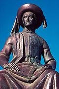 PORTUGAL, ALGARVE Lagos; Henry the Navigator statue