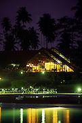 Pestana Resort is located in Ilheu das Rolas (Pidgeon island) on the southern tip of Sao Tome island.