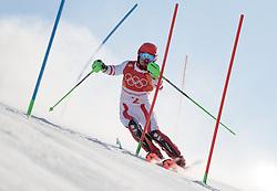 THEMENBILD - Skistar Marcel Hirscher gibt am 4. September seine Zukunftspläne in Salzburg bekannt. Seit seinem ersten Weltcupsieg 2009 in Val d'Isere gewann er den Gesamtweltcup siebenmal in Folge und steht derzeit bei insgesamt 68 Siegen. Damit zählt er zu den erfolgreichsten Skirennläufern der Geschichte. Hier im Bild: Marcel Hirscher (AUT, 1. Platz) bei den Olympischen Spielen PyeongChang 2018 // Ski star Marcel Hirscher announces his plans for the future in Salzburg on 4 September. Since winning his first World Cup victory in Val d'Isere in 2009, he has won the overall World Cup seven times in a row and currently has a total of 68 victories. He is one of the most successful ski racers in history. Here in the picture: gold medalist and Olympic champion Marcel Hirscher of Austria at the Olympics PyeongChang 2018, South Korea. EXPA Pictures © 2019, PhotoCredit: EXPA/ Johann Groder