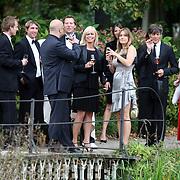 NLD/Overveen/20070921 - Huwelijk Ruud de Wild en Aafke Burggraaff, Bridget Maasland en styliste Monique Verkaart