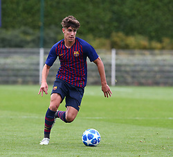 October 3, 2018 - London, England, United Kingdom - Enfield, UK. 03 October, 2018.Alex Collado Gutierrez of Tottenham Hotspur.during UEFA Youth League match between Tottenham Hotspur and FC Barcelona at Hotspur Way, Enfield. (Credit Image: © Action Foto Sport/NurPhoto/ZUMA Press)