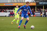 AFC Wimbledon Jack Rudoni (12) dribbling during the EFL Sky Bet League 1 match between AFC Wimbledon and Bolton Wanderers at the Cherry Red Records Stadium, Kingston, England on 7 March 2020.