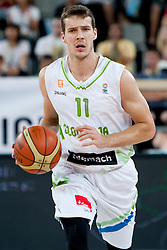 Goran Dragic of Slovenia during last friendly match before Eurobasket 2013 between National teams of Slovenia and France on August 31, 2013 in SRC Stozice, Ljubljana, Slovenia. (Photo by Urban Urbanc / Sportida.com)