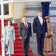 NLD/Den Haag/20180320 - Officieel bezoek Jordanie aan Nederland, Koning Abdullah II en koningin Rania  koning Willem-Alexander en koningin Maxima