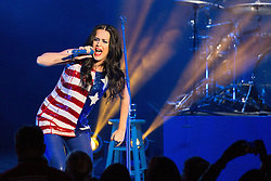 November 5, 2016 - Philadelphia, Pennsylvania, U.S - KATY PERRY during the ''Love Trumps Hate'' Get Out the Vote campaign at the Mann Center in Philadelphia, Pennsylvania (Credit Image: © Daniel DeSlover via ZUMA Wire)