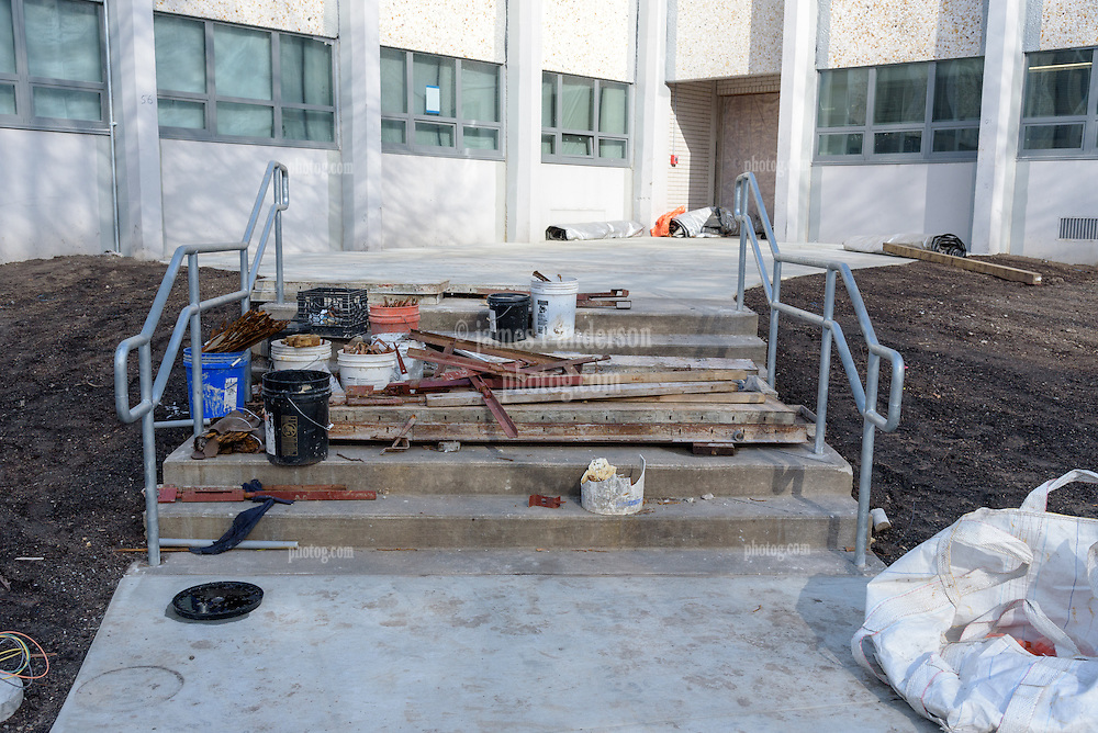 Central High School Bridgeport CT Expansion & Renovate as New. State of CT Project # 015-0174. One of 88 Photographs of Progress Submission 24, 2 February 2017