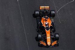 May 27, 2017 - Monte-Carlo, Monaco - 22 BUTTON Jenson from Great Britain of McLaren Honda MCL32 during the Monaco Grand Prix of the FIA Formula 1 championship, at Monaco on 27th of 2017. (Credit Image: © Xavier Bonilla/NurPhoto via ZUMA Press)