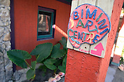 The Bimini Arts Center in the tiny island village of Alice Town, Bimini, Bahamas