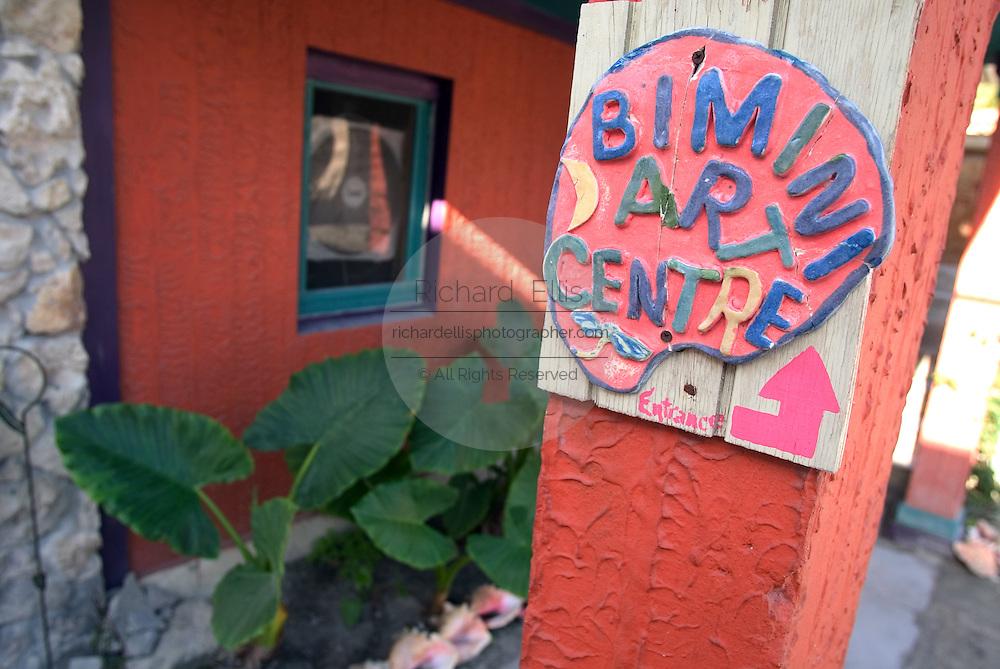 The Bimini Arts Center in the tiny island village of Alice Town, Bimini, Bahamas