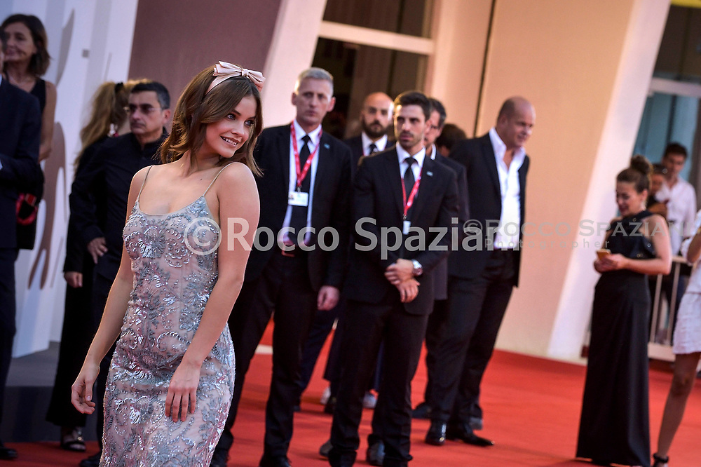"""VENICE, ITALY - AUGUST 31: Barbara Palvin walks the red carpet ahead of the """"Joker"""" screening during the 76th Venice Film Festival at Sala Grande on August 31, 2019 in Venice, Italy."""