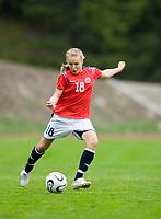 Anne G Vikre. Norway-Sweden, WU17 Four Nation's Tournament. Eerikkilä, Finland, 25.5.2007. Photo: Jussi Eskola