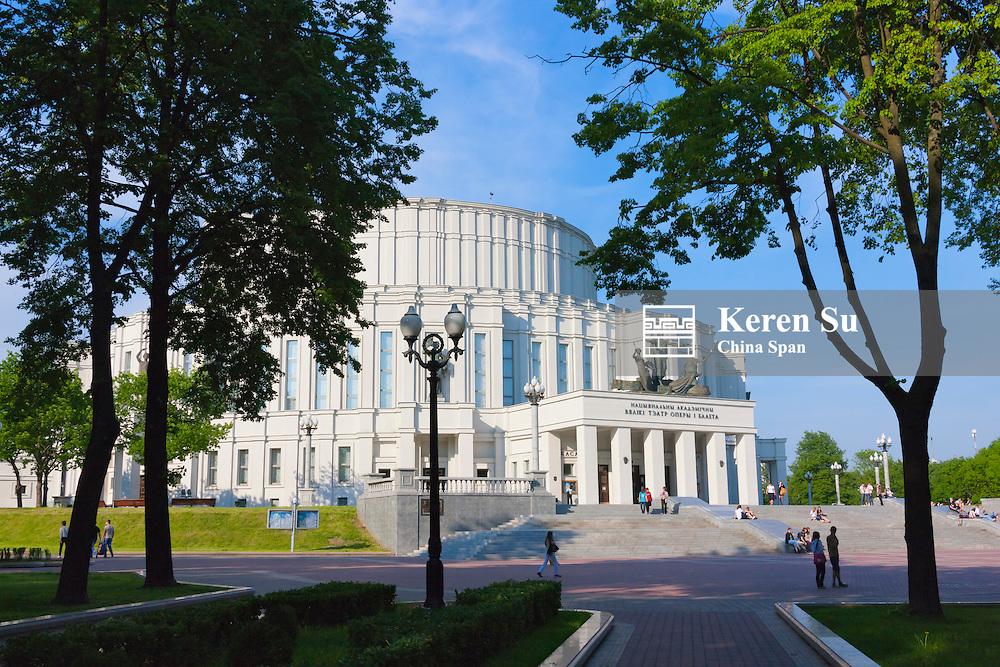 Opera and Ballet Theater, Minsk, Belarus