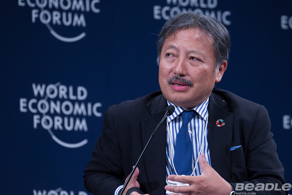 Haruki Hayashi, Executive Vice-President and Regional Chief Executive Officer, Europe and Africa<br /> Mitsubishi Corporation, United Kingdom at the World Economic Forum on Africa 2017 in Durban, South Africa. Copyright by World Economic Forum / Greg Beadle