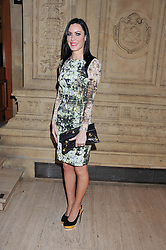 LINZI STOPPARD at Cirque du Soleil's VIP night of Kooza held at the Royal Albert Hall, London on 8th January 2013.