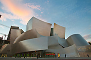 Walt Disney Concert Hall by Frank Gehry, Los Angeles Music Center, Grand Avenue, Downtown Los Angeles, California, USA