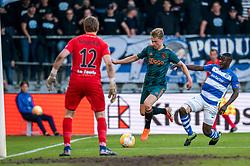 15-05-2019 NED: De Graafschap - Ajax, Doetinchem<br /> Round 34 / It wasn't really exciting anymore, but after the match against De Graafschap (1-4) it is official: Ajax is champion of the Netherlands / Frenkie de Jong #21 of Ajax,  Nigel Bertrams #12 of De Graafschap, Azor Matusiwa #21 of De Graafschap