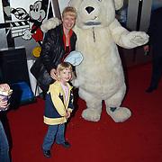 Premiere de Kleine IJsbeer, Linda en Diana Janssen