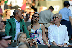 July 7, 2018 - Angleterre - Wimbledon - Edouardo Artaldi agent Madame Novak Djokovic (Credit Image: © Panoramic via ZUMA Press)