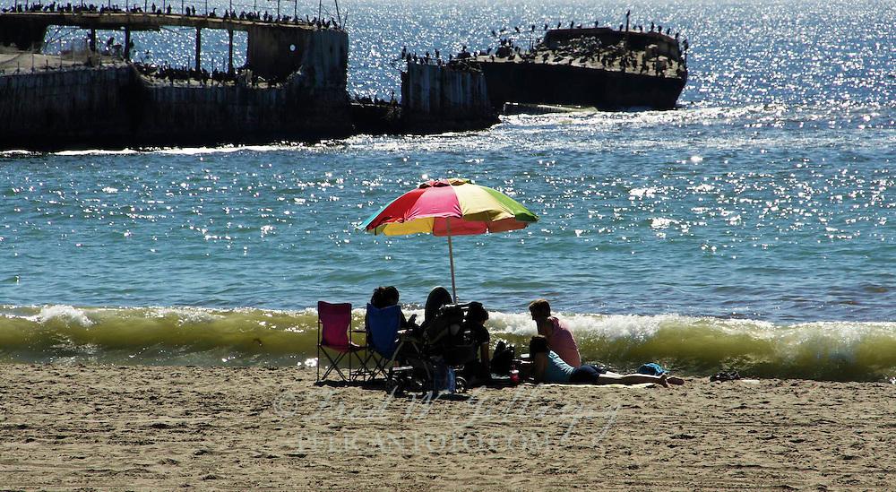 An Afternoon At Seacliff Beach