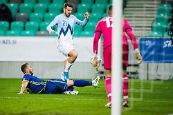 Domen Cernigoj of Slovenia during the UEFA Nations League C Group 3 match between Slovenia and Kosovo a at Stadion Stozice, on November 15th, 2020. Photo by Grega Valancic / Sportida