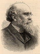 Thomas Storey (1825-1898) English industrialist and philanthropist from Lancashire. Storey was a mine owner, a mill owner, and leather manufacture, who made his fortune in the manufacture of oil-cloth and linoleum.  Mayor of Lancaster (1887). Engraving from 'The Illustrated London News' (6 August 1887).